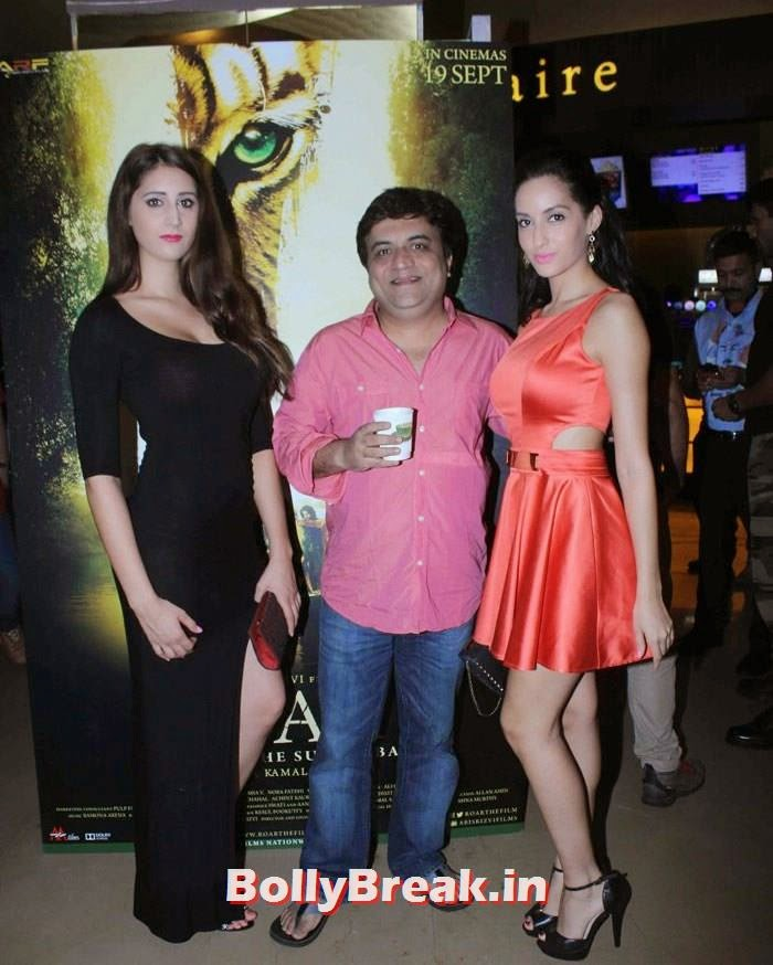 Naura Fathi, Celebs at 'Roar' Movie First Look Launch