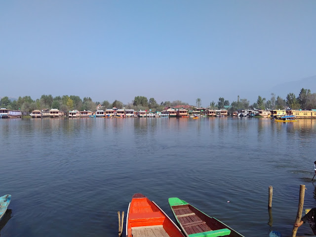 a view of dal lake