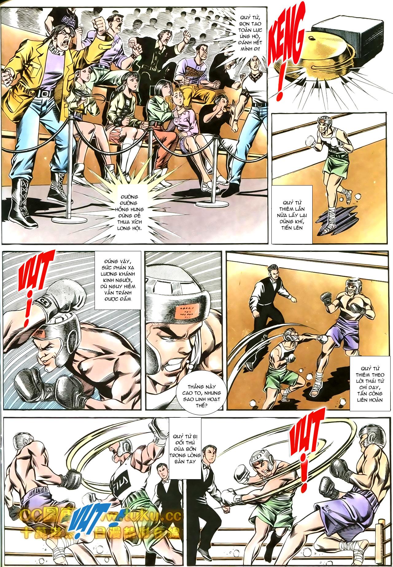 Người Trong Giang Hồ chapter 188: chiến nô trang 13