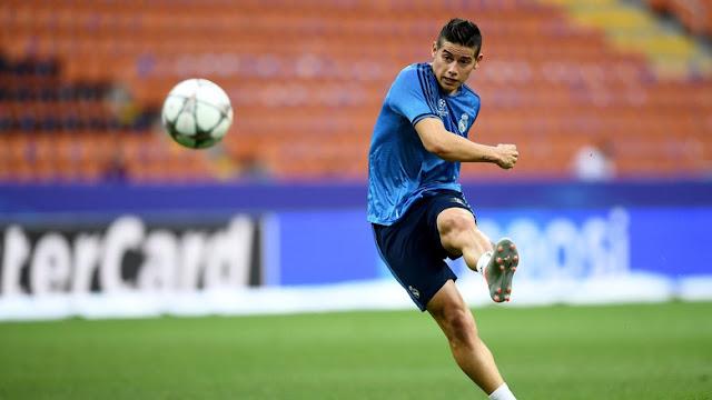 James Diklaim Tak Bakal Tinggalkan Madrid di Bulan Januari