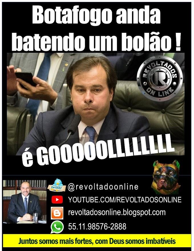 🔴 Rodrigo Maia vulgo Botafogo anda batendo um bolão ! É GOL