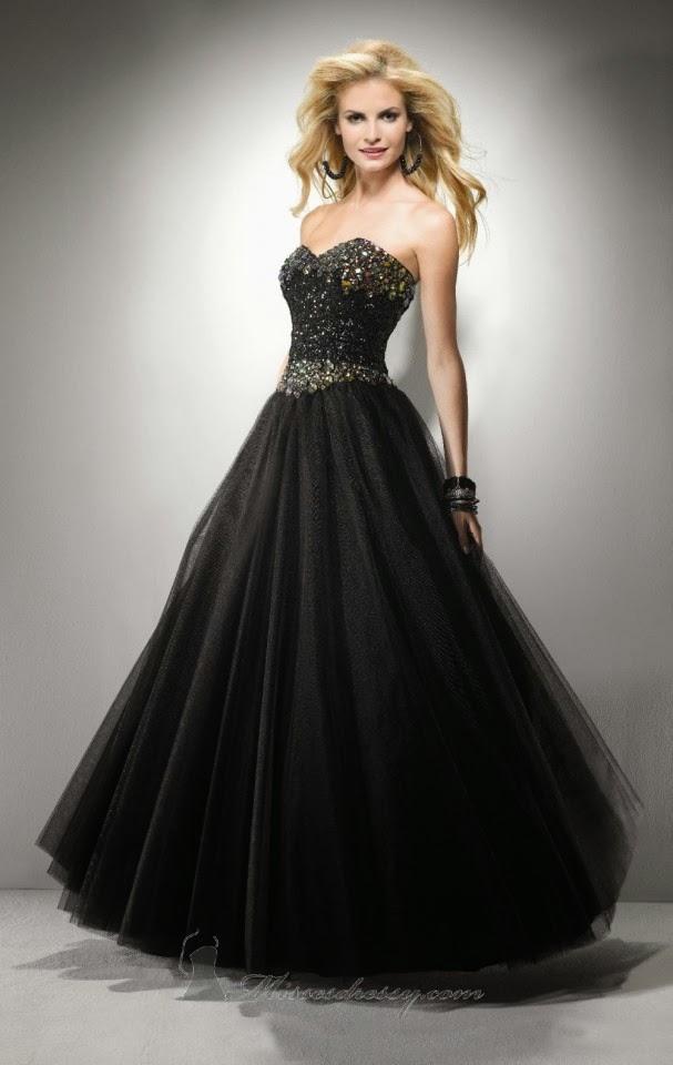 Imagenes de vestidos de noche hermosos