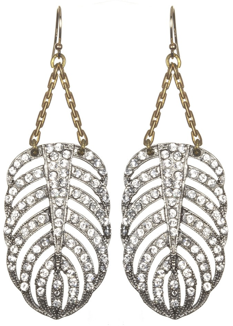 Lulu Frost Drift Earrings. Via Diamonds in the Library.