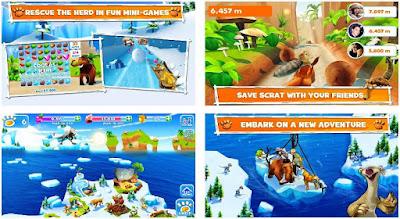 مغامرات ice age مهكرة, لعبة ice age village للأندرويد , تحميل لعبة ice age village
