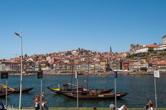 Que ver en Oporto en un dia. Vista de Oporto desde Gaia