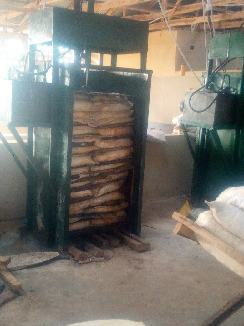 Cassava Plant Machines Locally Fabricated Cassava Garri