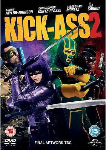 Kick-Ass 2 (2013) [DVDrip Latino] [Acción]