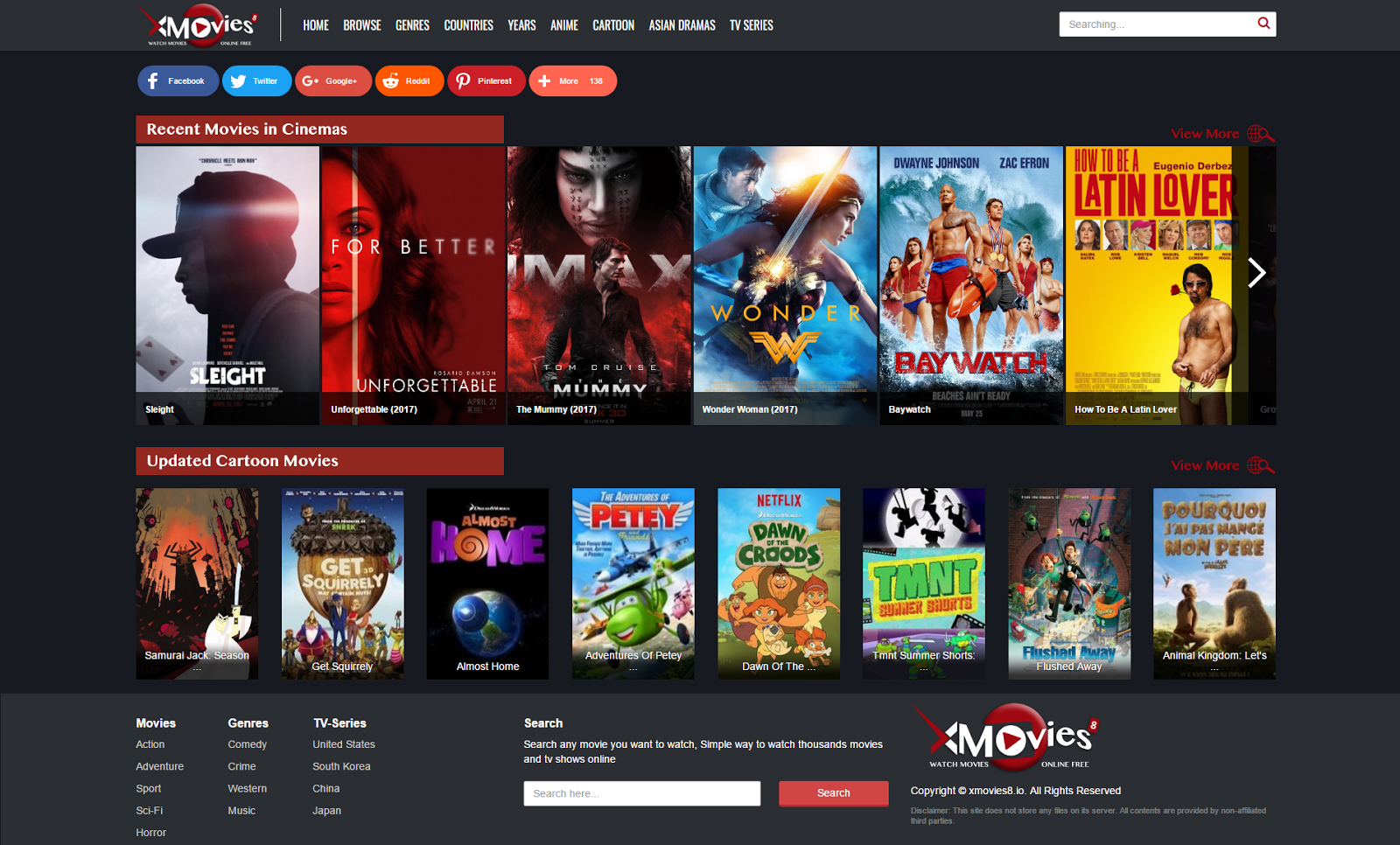 Sites for watching movies online: a selection of sites