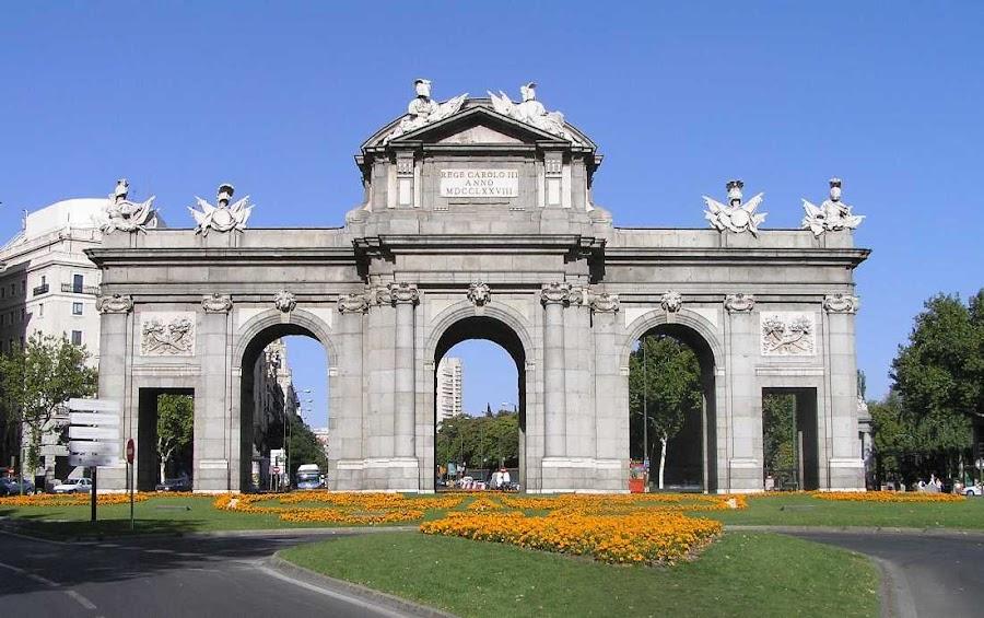 La Puerta de Alcala en Madrid