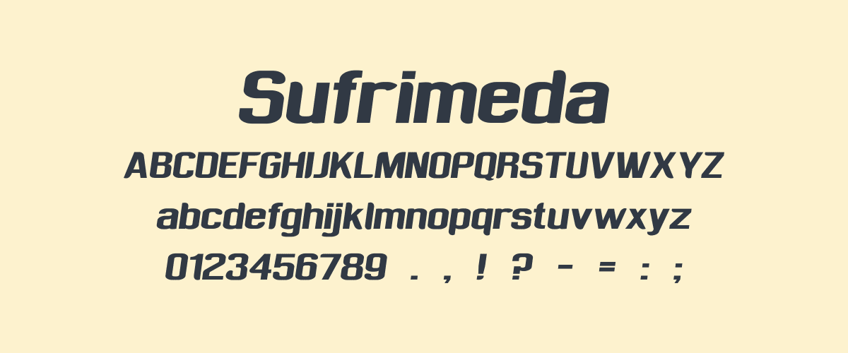 Kumpulan Font Terbaik Untuk Desain Sticker - Sufrimeda