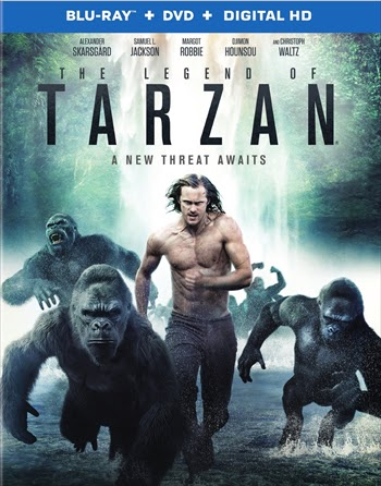 The Legend Of Tarzan 2016 Dual Audio ORG Hindi 720p BluRay 850mb
