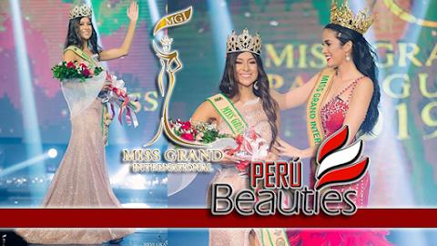 Milena Rodriguez es Miss Grand Paraguay 2019