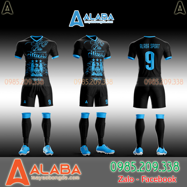 Áo Man City may theo yêu cầu mã ALB MC09