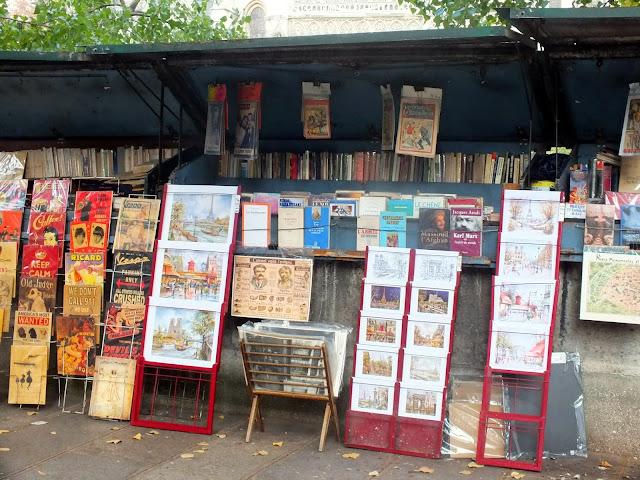 librerías parisinas