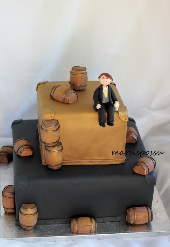 Kakku 40-vuotissynttäreille