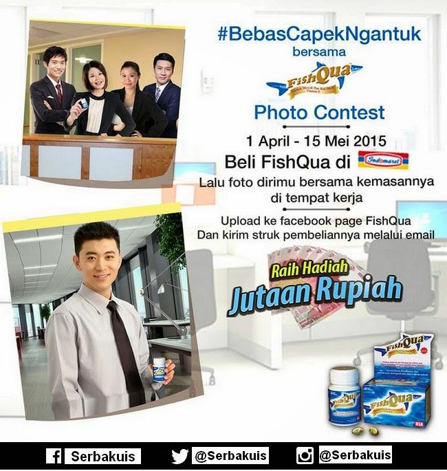 Kontes Foto Bersama FishQua Berhadiah Jutaan Rupiah