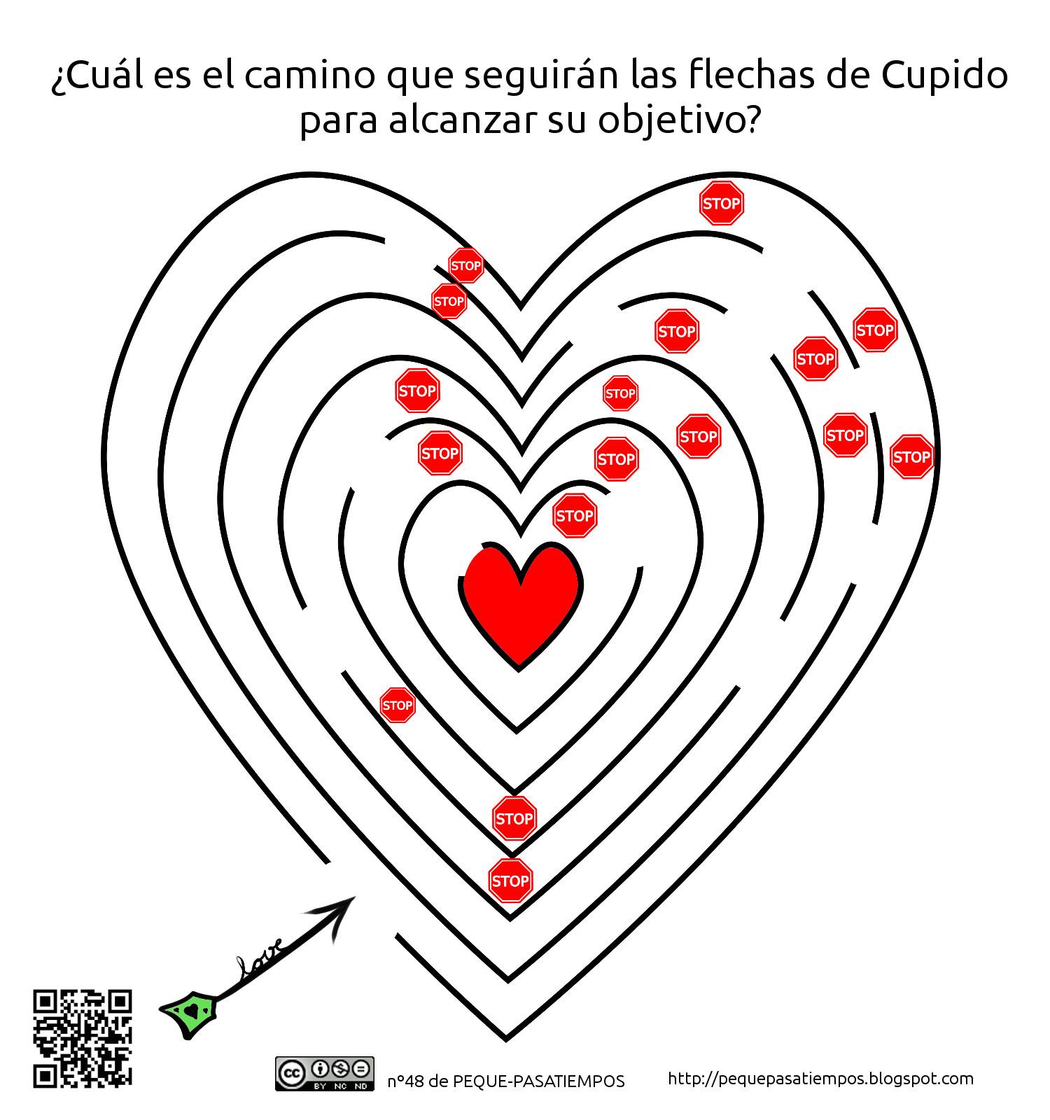 Peque-pasatiempos: Preparando San Valentín - PEQUE-PASATIEMPOS nº48