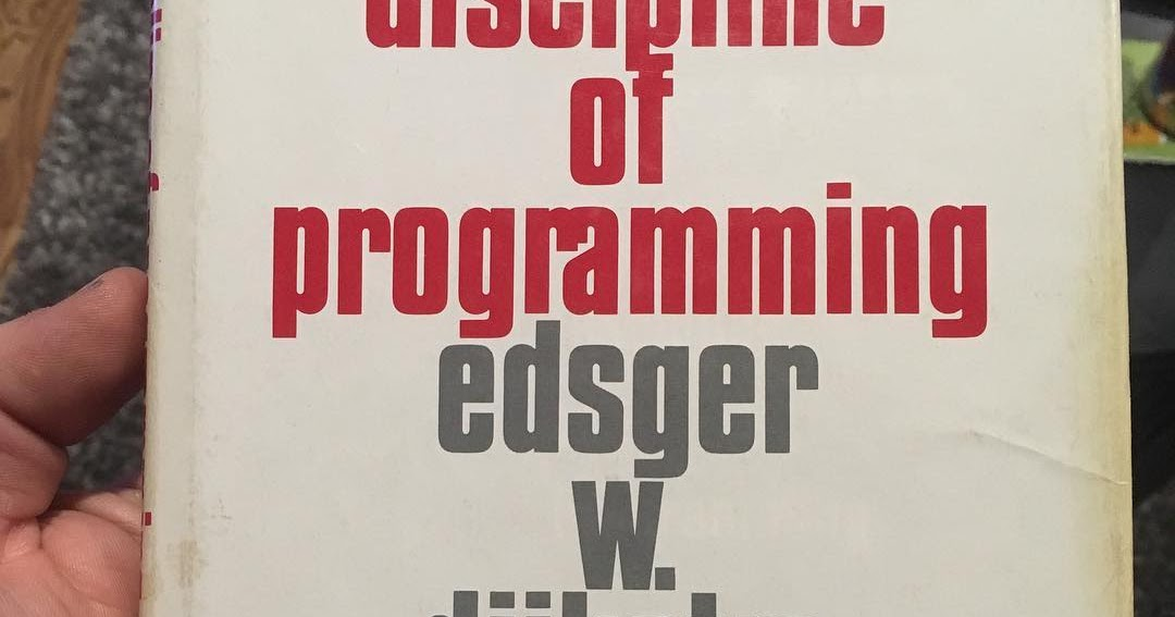 Discipline of Programming | iCodeRogue