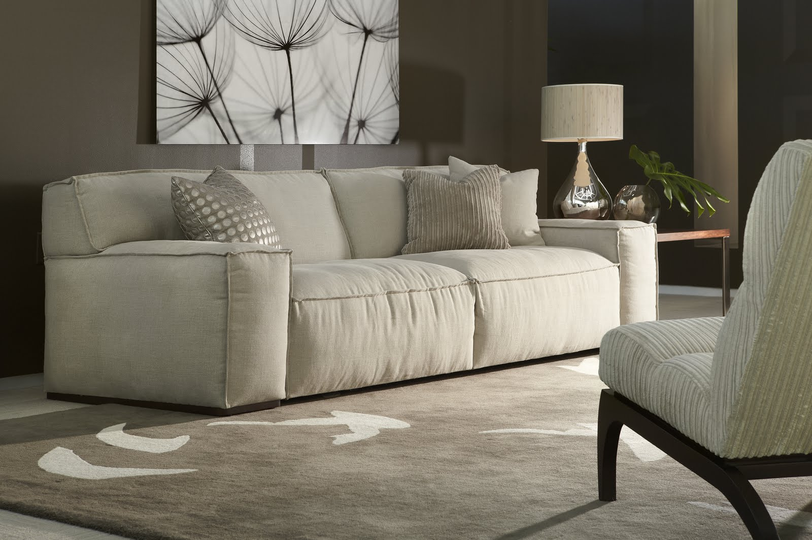Superieur Down Filled Sectional Sofas