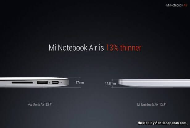 Xiaomi 'Mi Notebook Air' [3]