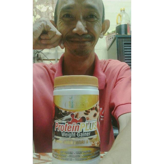 Testimoni Protein Plus V'asia