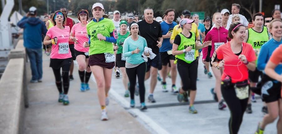 Empezar a correr carreras populares