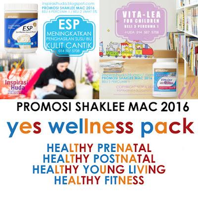 promosi, shaklee, mac 2016