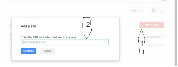 Masuk ke google