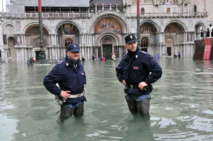 Viajes INcreíbles: Venecia, inundada