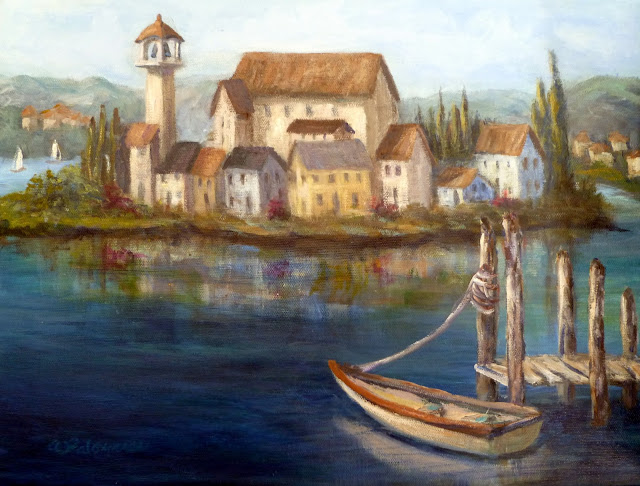 Tuscan-Village-Coastal-Paintings