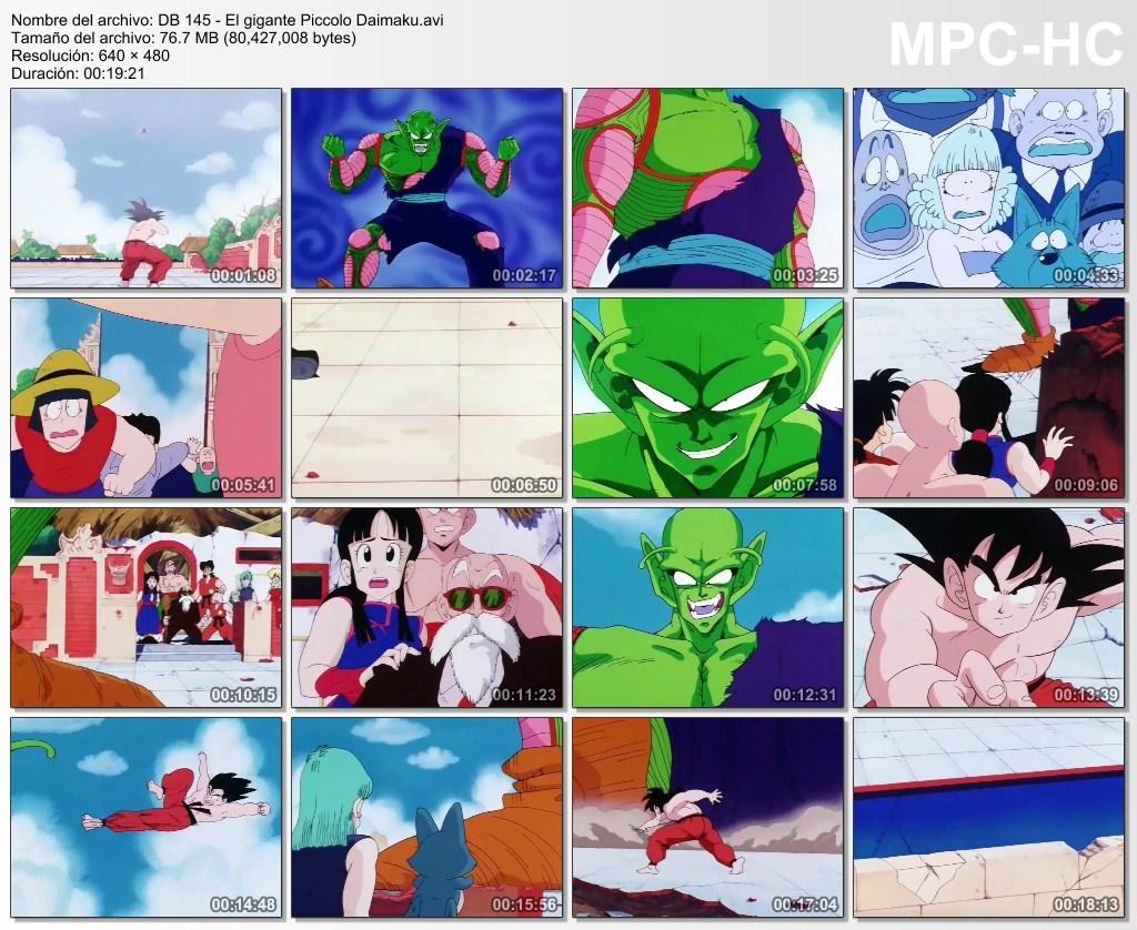 TODO DRAGON BALL: DRAGON BALL CAPITULO 145: EL GIGANTE PICCOLO DAIMAKU