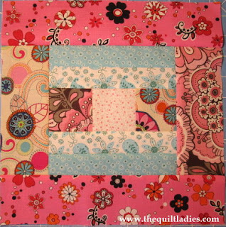 free log cabin quilt pattern