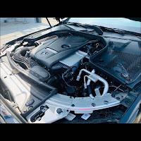 Khoang động cơ Mercedes C250 Exclusive 2019 đã qua sử dụng