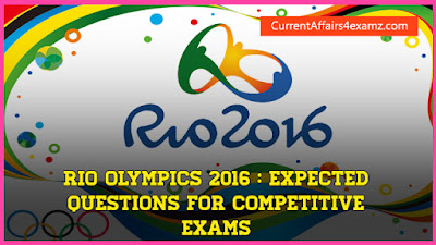 Rio Olympics 2016 Questions
