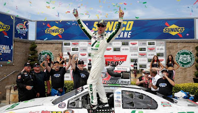 Kevin Harvick Wins the K&N Pro Series West Race in Sonoma #NASCAR