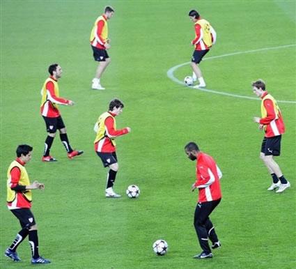 Soccer Passing Training
