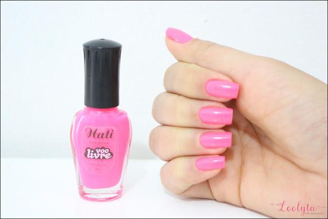 esmalte rosa pink nati