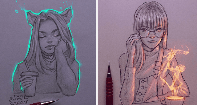 angel-ganev-hermosas-ilustraciones-con-efectos-de-luz-00 This illustrator creates effects of light quality in their illustrations templates
