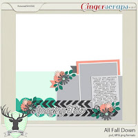 Template : All Fall Down by Dear Friends Designs