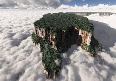 5 misteriosos mundos perdidos existentes na Terra