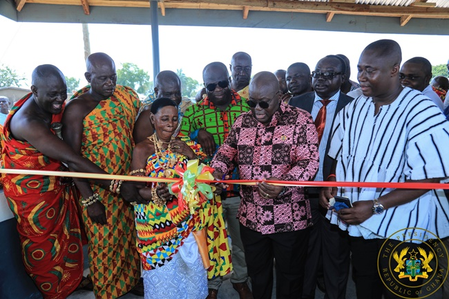 President Akufo-Addo Assures Of Equitable Distribution Of Infrastructure Across New Regions