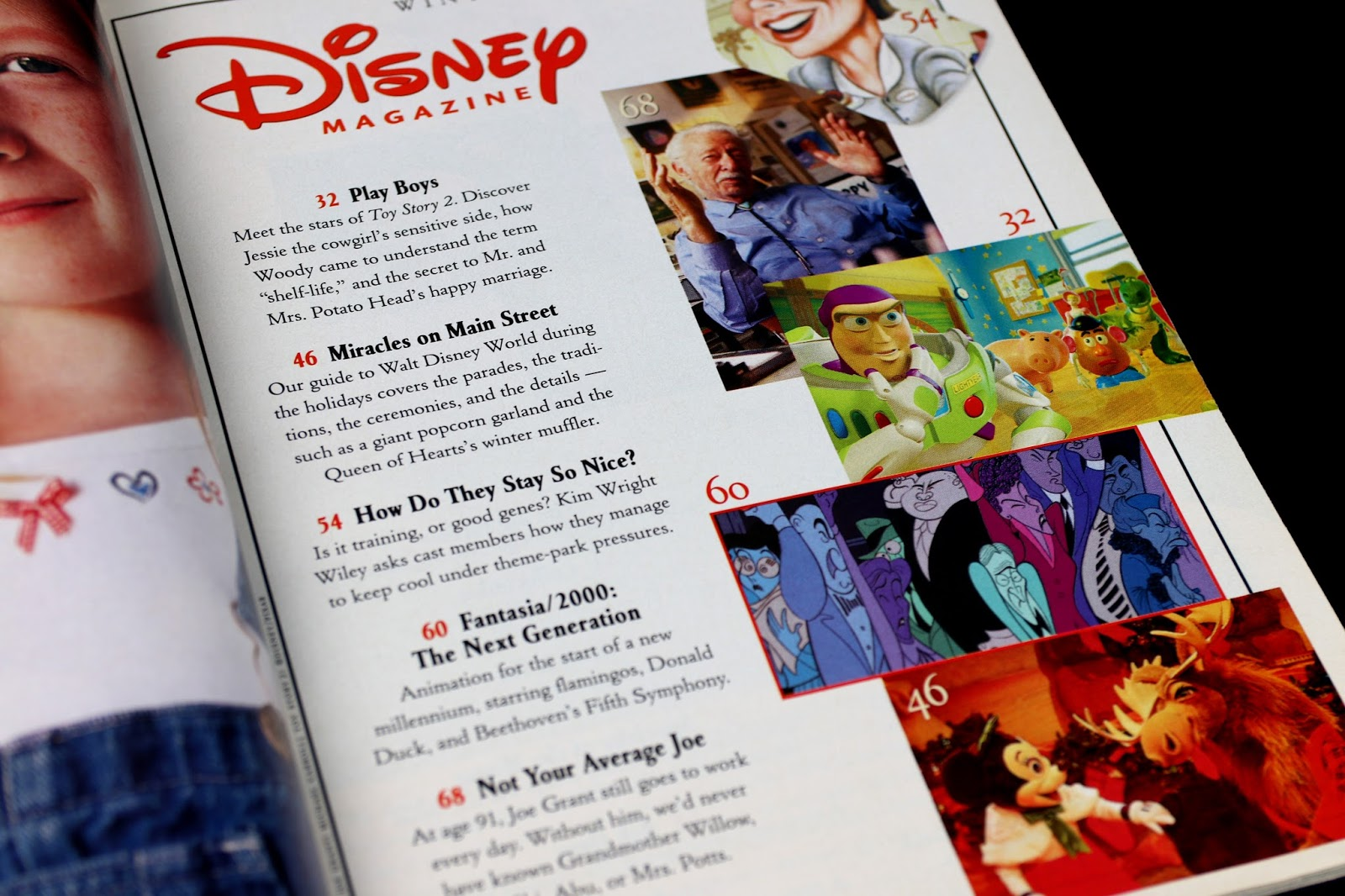 Disney Magazine (Winter 1999-2000 Edition) Toy Story 2