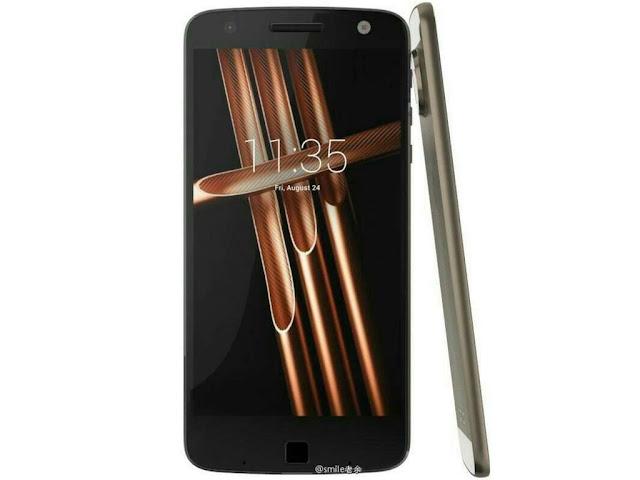 Inikah desain final Motorola Moto X4?