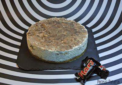 cheese cake, cheesecake, Mars, dessert avec des Mars, gâteau Mars, pâtisserie, Mars cake, pâtisserie, patissi-patatta