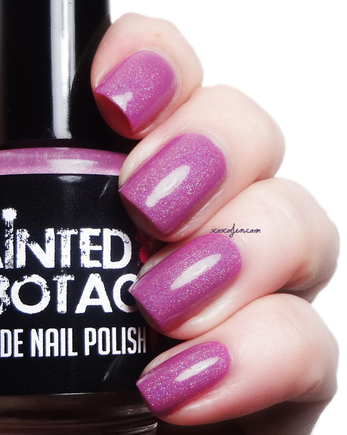xoxoJen's swatch of Painted Sabotage Amnesia