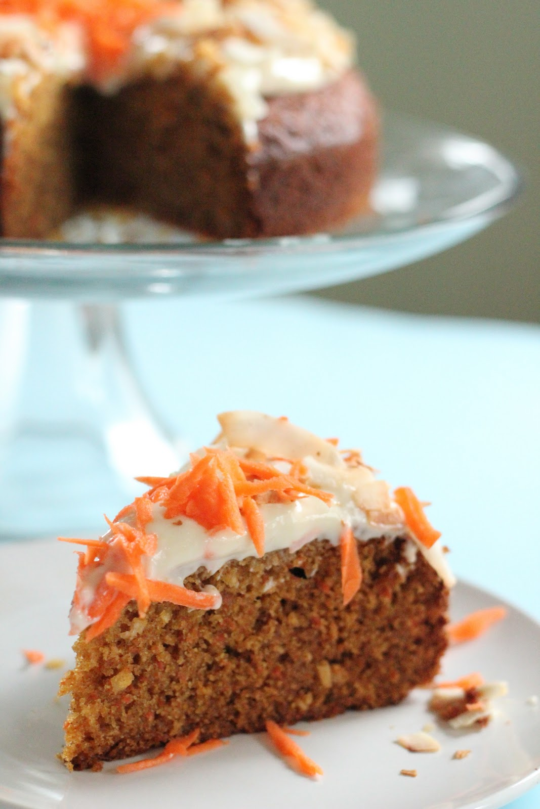 coconut carrot cake carrot and coconut cake with honey cheese frosting 2989