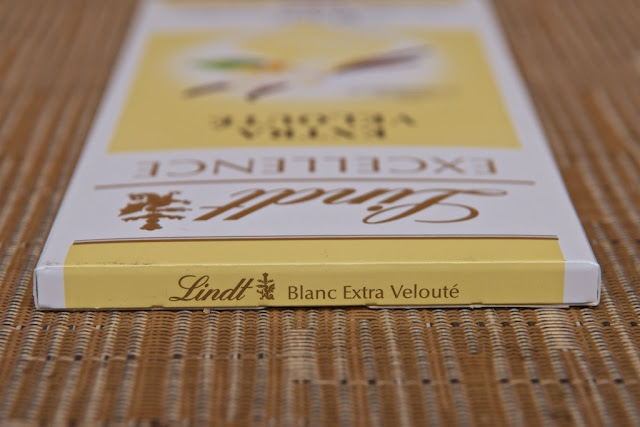 Chocolat Excellence Blanc Extra Velouté Lindt - Chocolat blanc -White chocolate