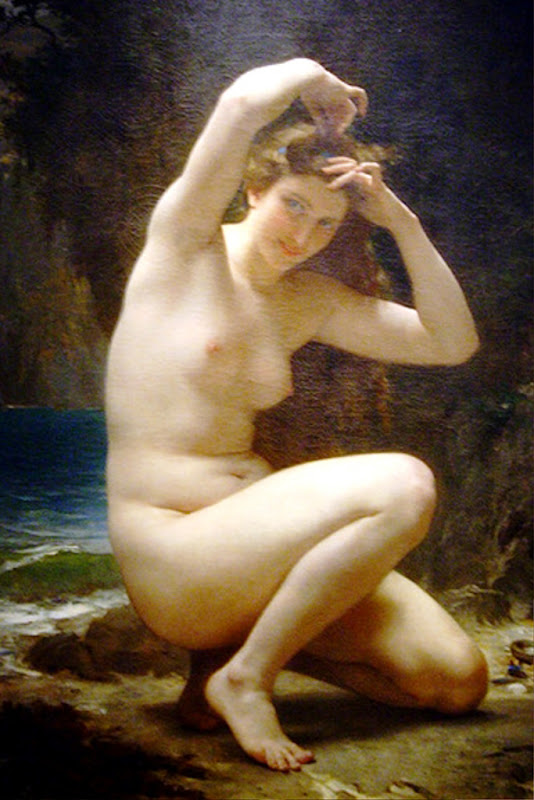 William Bouguereau, Classical mythology, Greek mythology, Roman mythology, mythological Art Paintings, Myths and Legends