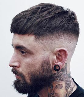 Kalın Saçlılar İçin Kısa Saç Modeli