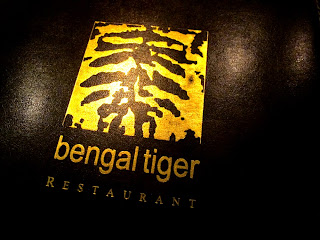 Bengal Tiger Indian restaurant, St Pauls, London
